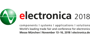 Visit us at Electronica 2018