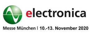 Visit us at Electronica Münich 2020