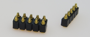 HIGH RELIABILITY SPRING LOADED PINS