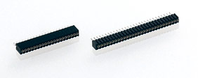 1 mm, Straight solder tail