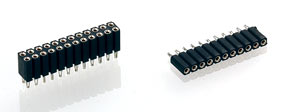 2.54 mm, Solderless compliant press-fit, Mating pin 0.47mm