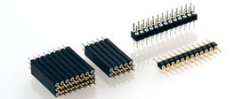 2.54 mm, Straight solder tail, Pin 0.76mm