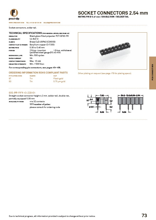 Swiss World Connects - PCB-Connectors - Page 35