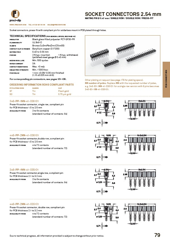 Swiss World Connects - PCB-Connectors - Page 41