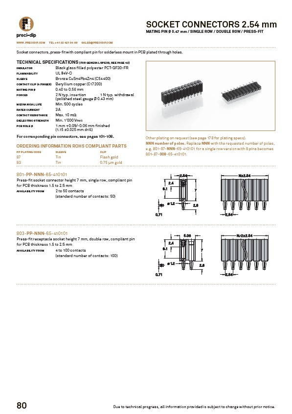 Swiss World Connects - PCB-Connectors - Page 42