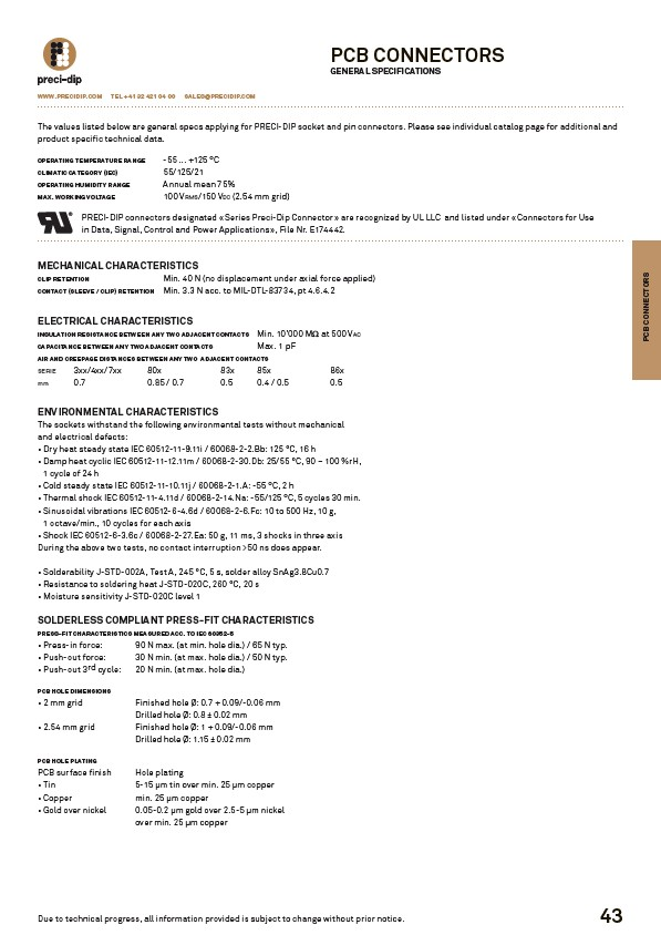 Swiss World Connects - PCB-Connectors - Page 5
